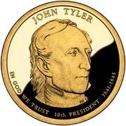 1 Dollar (John Tyler) -  obverse