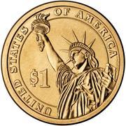 1 Dollar (John Tyler) -  reverse