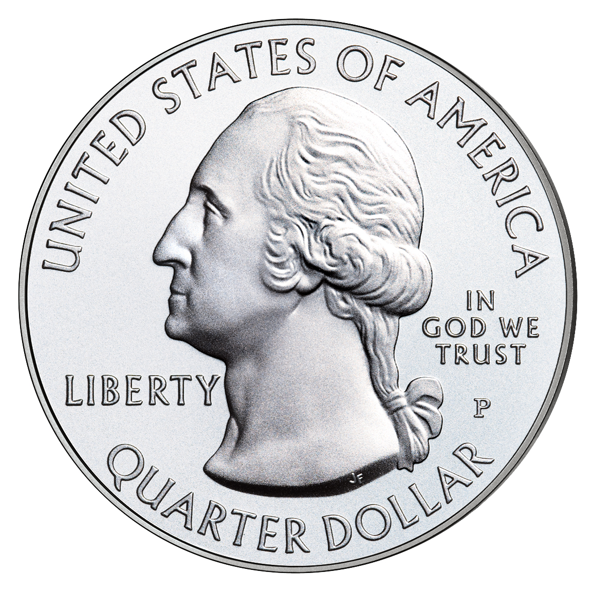 ¼ Dollar ''Washington Quarter'' (Cumberland Gap National ...