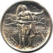 ½ Dollar (Oregon Trail Memorial) -  reverse