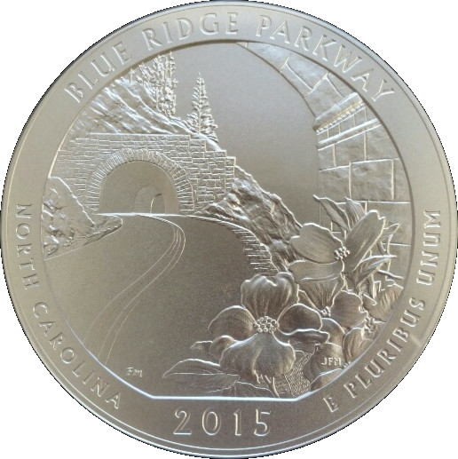 188 Dollar Quot Washington Quarter Quot Blue Ridge Parkway North