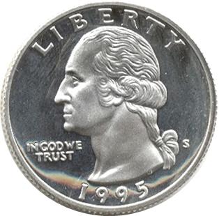 188 Dollar Quot Washington Quarter Quot Silver Proof Issue