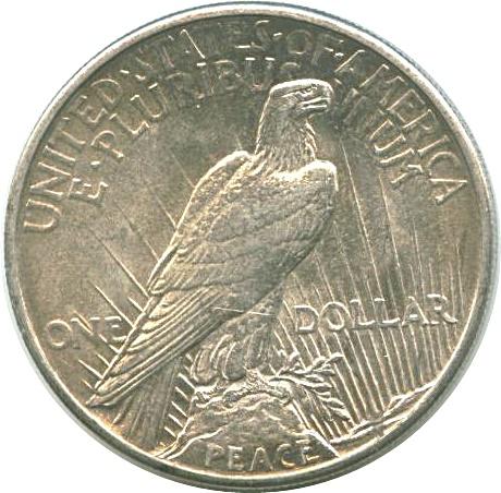 1 Dollar Quot Peace Dollar Quot United States Numista