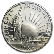 ½ Dollar (Statue of Liberty) -  obverse