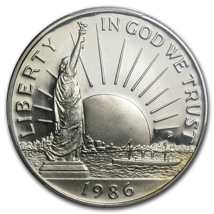½ Dollar (Statue of Liberty) - United States – Numista