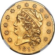 5 Dollars (Capped Bust; large type) -  obverse