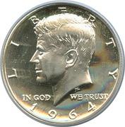 """½ Dollar """"Kennedy Half Dollar"""" (90% Silver) -  obverse"""