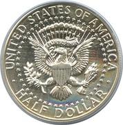 """½ Dollar """"Kennedy Half Dollar"""" (90% Silver) -  reverse"""