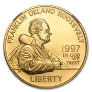 5 Dollars (Franklin Delano Roosevelt) -  obverse