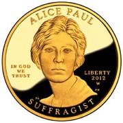 10 Dollars (Alice Paul ; Bullion Coinage) -  obverse