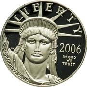 "50 Dollars ""American Platinum Eagle"" (Bullion Coinage) -  obverse"