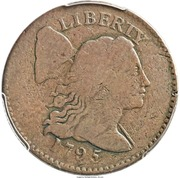 "1 Cent ""Liberty Cap Cent"" (Pattern) – obverse"
