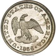 "2 Cents ""1836"" (Pattern; white metal) – obverse"