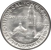 ½ Dollar - San Diego (California-Pacific Exposition) -  obverse