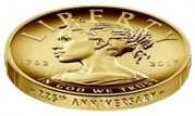 """100 Dollars (""""American Liberty 225th Anniversary High Relief Gold"""") -  obverse"""