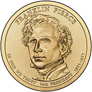 1 Dollar (Franklin Pierce) -  obverse
