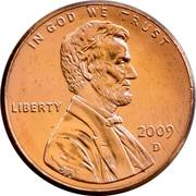 """1 Cent """"Lincoln Cent"""" (Presidency) – obverse"""