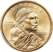 "1 Dollar ""Sacagawea Dollar"" -  obverse"