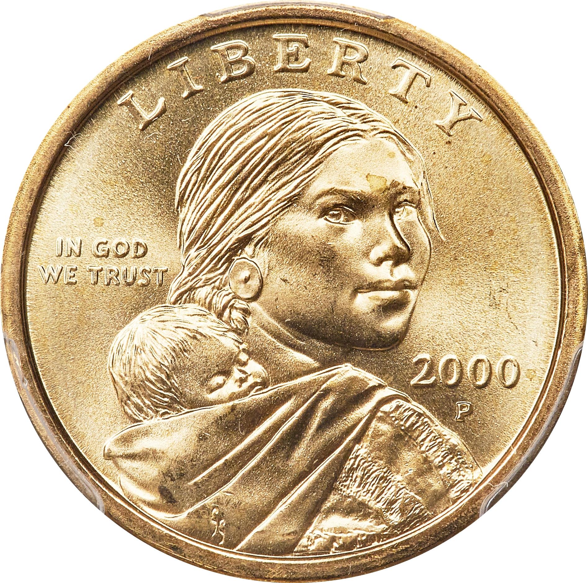 1 Dollar Sacagawea Dollar United States Numista