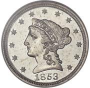 "1 Cent ""1853"" (Pattern) -  obverse"