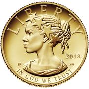 "10 Dollars ""American Liberty"" Bullion Coinage -  obverse"
