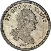 "5 Cents ""1866 Nickel"" (Pattern) -  obverse"