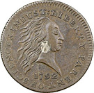 "1 Cent ""1792 Silver Center and Copper"" (Pattern) – obverse"