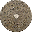 "1 Cent ""1792 Silver Center and Copper"" (Pattern) – reverse"