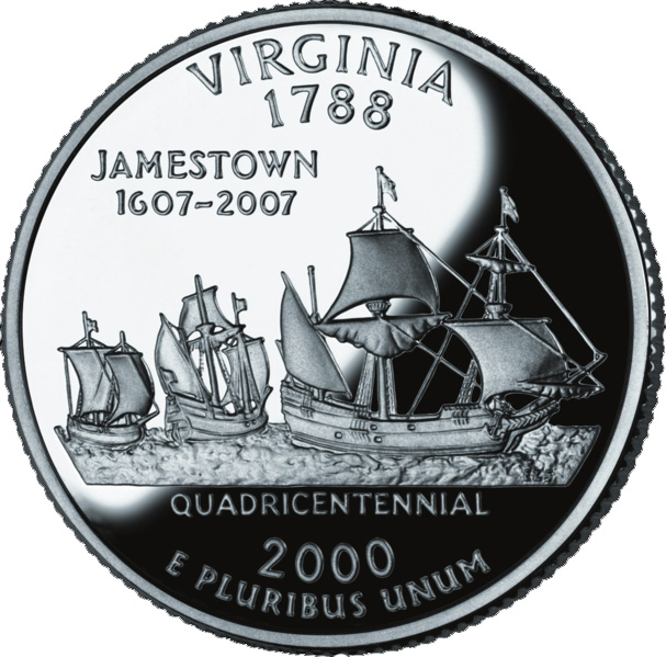 188 Dollar Quot Washington Quarter Quot Virginia Silver Proof