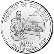 "¼ Dollar ""Washington Quarter"" (District of Columbia) -  reverse"