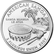 "¼ Dollar ""Washington Quarter"" (American Samoa) -  reverse"