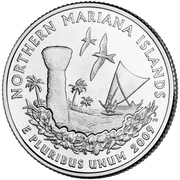 "¼ Dollar ""Washington Quarter"" (Northern Mariana Islands) -  reverse"