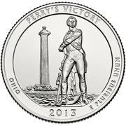 "¼ Dollar ""Washington Quarter"" (Perry's Victory, Ohio) -  reverse"