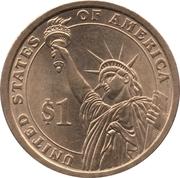 1 Dollar (Thomas Jefferson) -  reverse