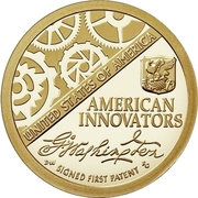 1 Dollar (American Innovation - Introductory Coin) -  reverse