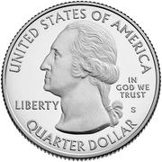 ¼ Dollar ''Washington Quarter'' (Frank Church River of No Return Wilderness, Idaho) -  obverse