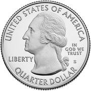 ¼ Dollar ''Washington Quarter'' (War in the Pacific National Historical Park, Guam) -  obverse