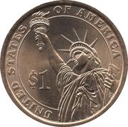1 Dollar (Dwight D. Eisenhower) -  obverse