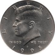 """½ Dollar """"Kennedy Half Dollar"""" -  obverse"""