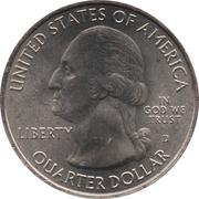 "¼ Dollar ""Washington Quarter"" (Chickasaw National Recreation Area, Oklahoma) -  obverse"