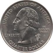 "¼ Dollar ""Washington Quarter"" (Indiana) – obverse"