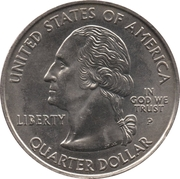 "¼ Dollar ""Washington Quarter"" (Massachusetts) – obverse"