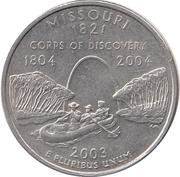 "¼ Dollar ""Washington Quarter"" (Missouri) -  reverse"