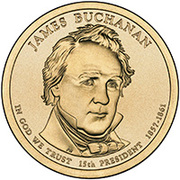 1 Dollar (James Buchanan) -  obverse