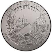 ¼ Dollar ''Washington Quarter'' (Frank Church River of No Return Wilderness- Silver 5oz Bullion) -  obverse