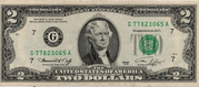 2 Dollars (Federal Reserve Note) – obverse