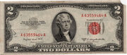 2 Dollars (United States Note; Red Seal right; no motto) – obverse