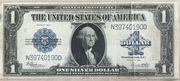 1 Dollar (Large Size Silver Certificate; Washington) – obverse