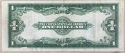 1 Dollar (Large Size Silver Certificate; Washington) – reverse
