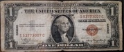 1 Dollar (Silver Certificate; Brown Seal - Hawaii) – obverse
